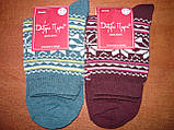 "Махровые женские носки ""Добра Пара"". Р. 23-25 (36-39). Орнамент., фото 7"