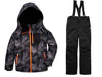 Зимний раздельный термокомбинезон Topolino для мальчика 134, 140, 146 см лыжный костюм, фото 1