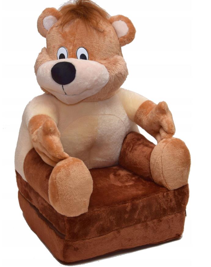 Детское мягкое кресло Медвежонок