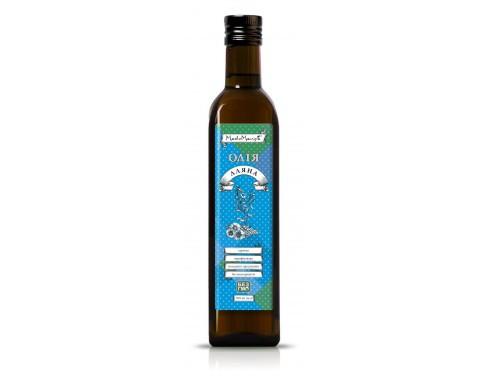 Льняное масло, 0.5 л.