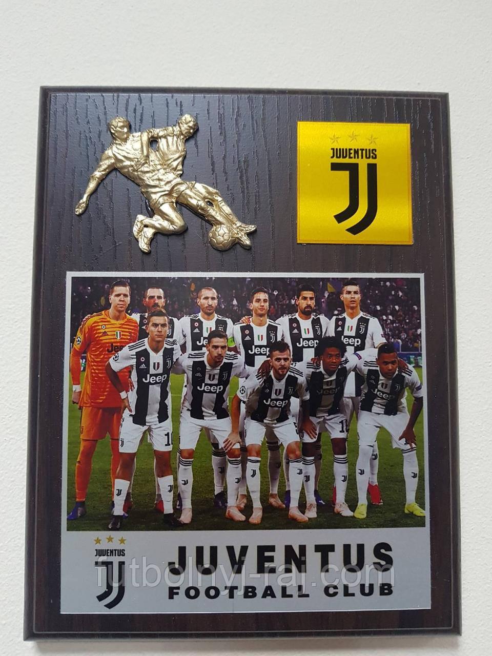 Плакетка Євроклуби FC Juventus