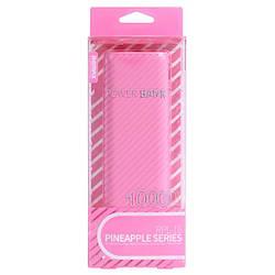Портативний зарядний пристрій (Power Bank) Remax Pineapple RPL-16 10000mAh, Pink