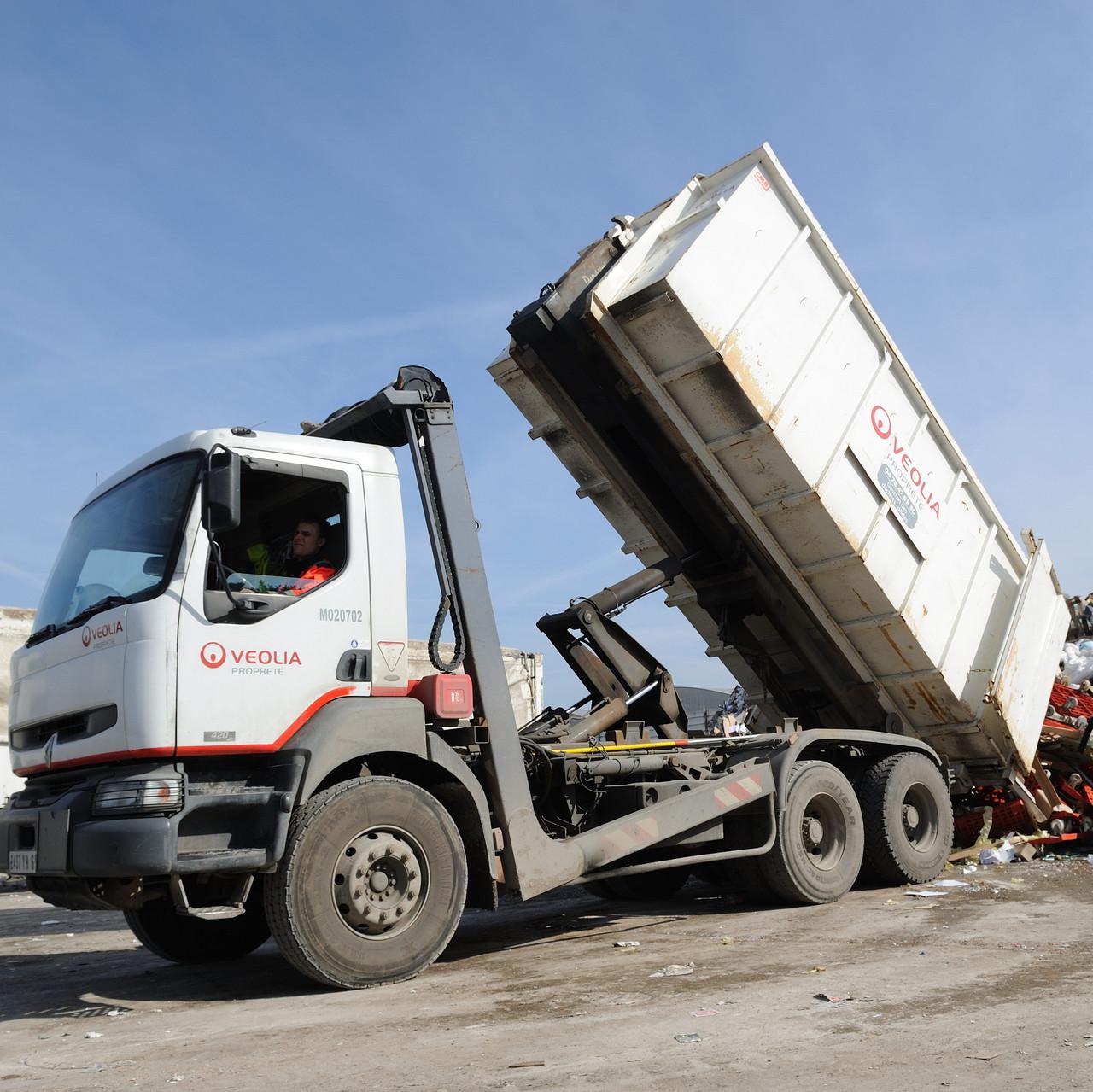 Вивезення сміття промисловості