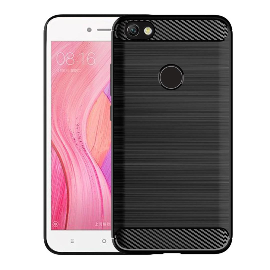 "TPU Чехол накладка для Xiaomi Redmi Note 5A 3/32, 4/64 (черный ""carbon"")"