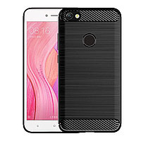 "TPU Чехол накладка для Xiaomi Redmi Note 5A 3/32, 4/64 (черный ""carbon""), фото 1"
