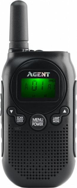 Радиостанция AGENT AR-T6 Black PMR446