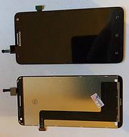 Lenovo S580 дисплей в зборі з тачскріном модуль чорний