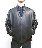 Мужская куртка Eleganza из натуральной кожи. Модель  MARSEL размер L