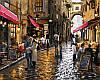 Раскраска по цифрам Уютные кафе Худ МакНейл Ричард (VP445) 40 х 50 см