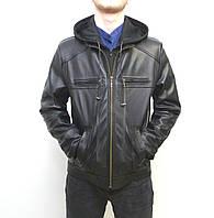 Мужская куртка Eleganza из натуральной кожи. Модель COBRA размер XL