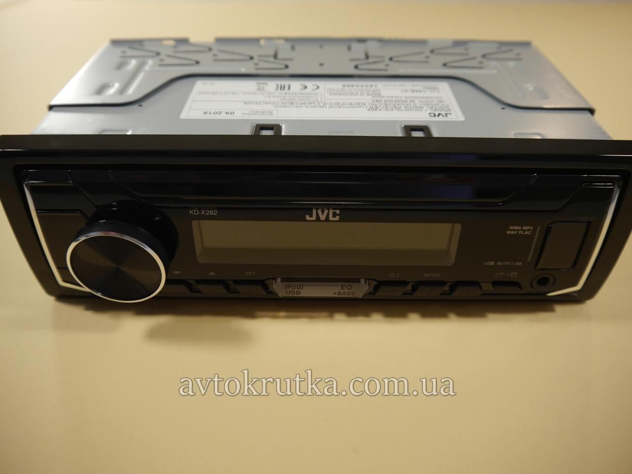 Автомагнитола JVC KD-X262. Магнитола в машину