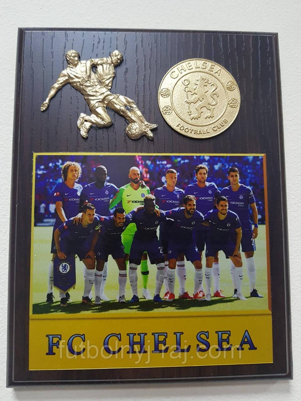 Плакетка Евроклубы FC Chelsea