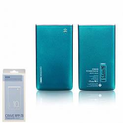 Портативний зарядний пристрій (Power Bank) REMAX Power Bank Crave Series RPP-78 5000 mAh Green