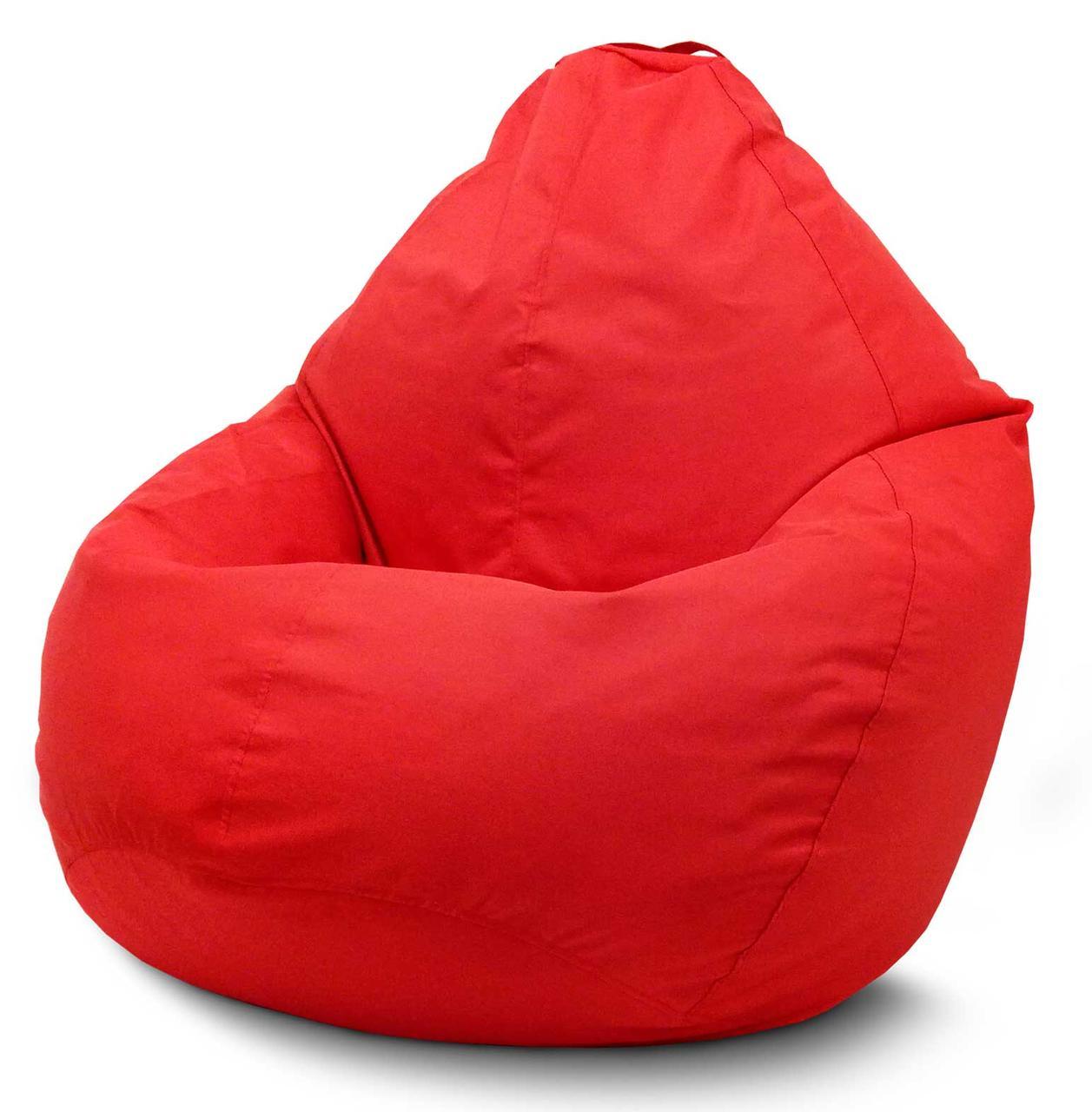 Кресло мешок груша Оксфорд Красный