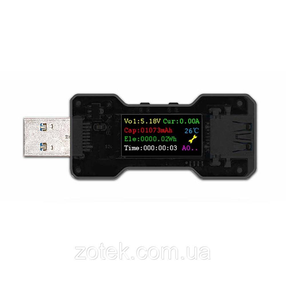FNB18 USB тестер FNIRSI OLED дисплей USB 3.0