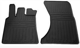Коврики резиновые в салон Porsche MACAN 2014- (2 шт) передние Stingray 1052022