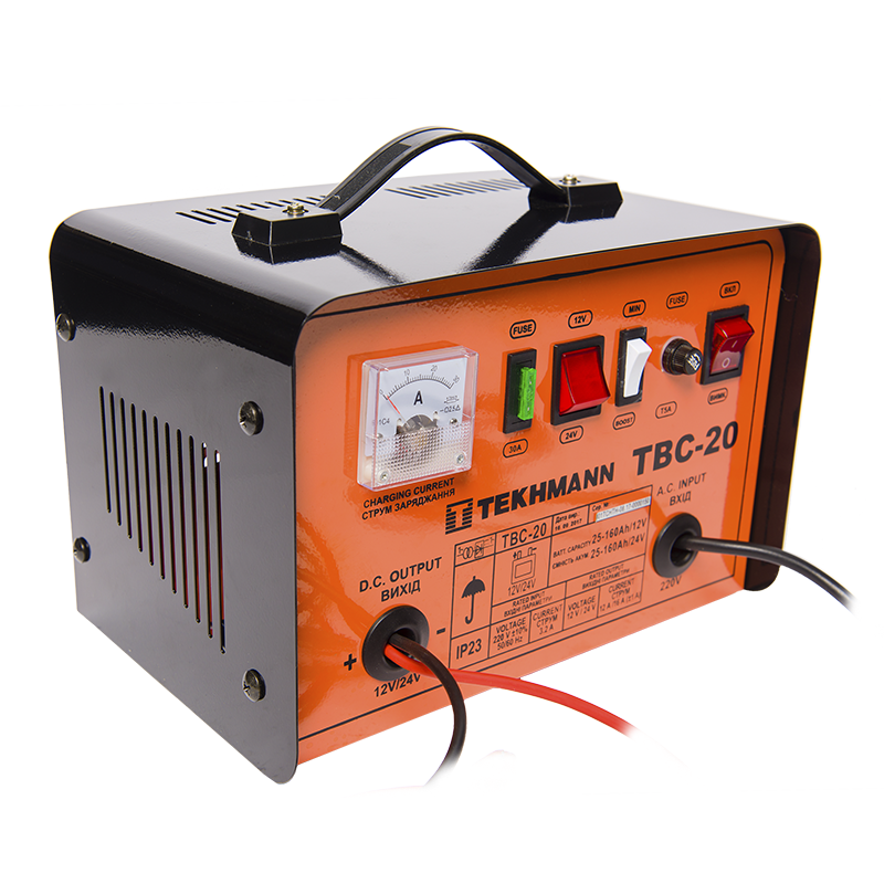 Зарядний пристрій Tekhmann TBC-20