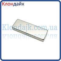 Неодимовый магнит прямоугольник 6,5х4х4,5 мм