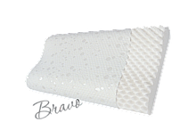 Ортопедическая подушка повышенного комфорта с охлаждающим эффектом (форма волны) Bravo 590 x 364 x 110 мм P107