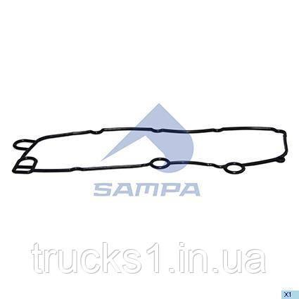 Прокладка масляного радиатора Scania 041.451 (SAMPA)