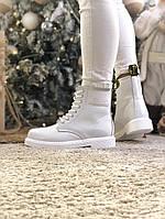 Ботинки женские Dr. Martens.Ботинки с мехом. ТОП КАЧЕСТВО!!! Реплика класса люкс (ААА+)