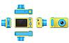 Детский фотоаппарат цифровой dvr baby camera Smart Kids Camera V7, фото 4