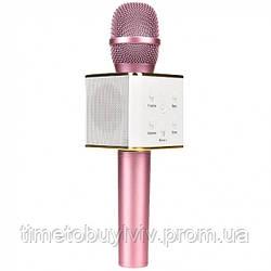 Караоке микрофон Розовый