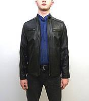 Мужская куртка Eleganza из натуральной кожи. Модель BOSTON размер XL