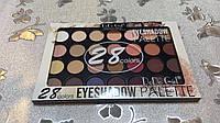 Палитра теней для век DoDo Girl Professional Makeup (28 цветов) №01