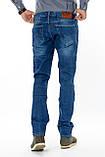 Мужские джинсы Franco Benussi 13-267 TOR темно-синие, фото 7