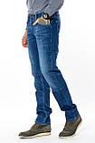 Мужские джинсы Franco Benussi 13-267 TOR темно-синие, фото 5
