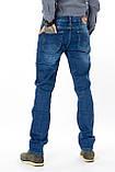 Мужские джинсы Franco Benussi 13-267 TOR темно-синие, фото 6