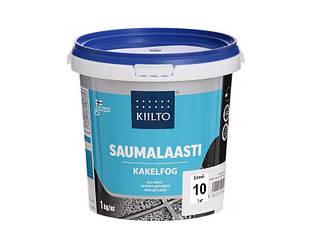 Затирка цементная KIILTO для швов плитки №10 - белая 1кг