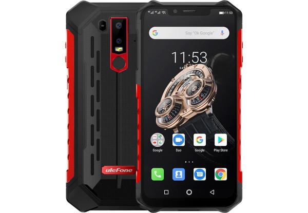 Защищенный смартфон UleFone Armor 6S 6/128GB Red Mediatek Helio P70 5000 мАч