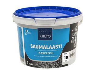 Затирка цементная KIILTO для швов плитки №10 - белая 3кг