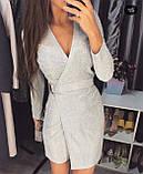 Платье женское вечернее белый, серый, чёрный, красный, бежевый, 42-44, 46-48, фото 2