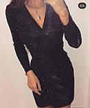 Платье женское вечернее белый, серый, чёрный, красный, бежевый, 42-44, 46-48, фото 6