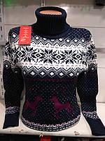 Турецкий свитер с оленями