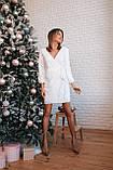 Платье женское вечернее чёрное, белое, золото, 42-44, 44-46, фото 8