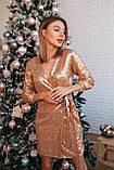 Платье женское вечернее чёрное, белое, золото, 42-44, 44-46, фото 6