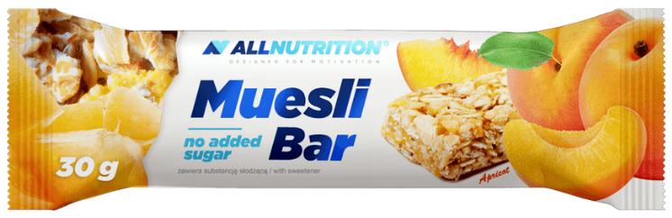 Злаковый батончик AllNutrition - Muesli Bar (30 грамм) абрикос