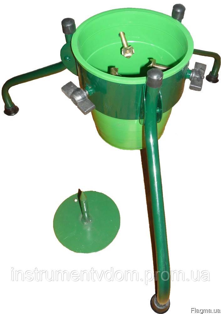 Подставка елочная складная с пластиковым ведерком (3 ножки)