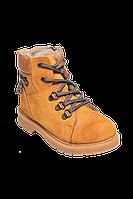 Зимние ботинки для мальчика Tawny (100% кожа,100% натуральный мех), р. 26-30