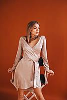 Платье женское чёрное, красное, бежевое, 42-44, 46-48, фото 1