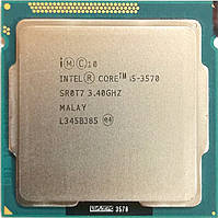 Процессор Intel Core i5-3570 N0 SR0T7 3.4GHz 6M Cache Socket 1155 Б/У