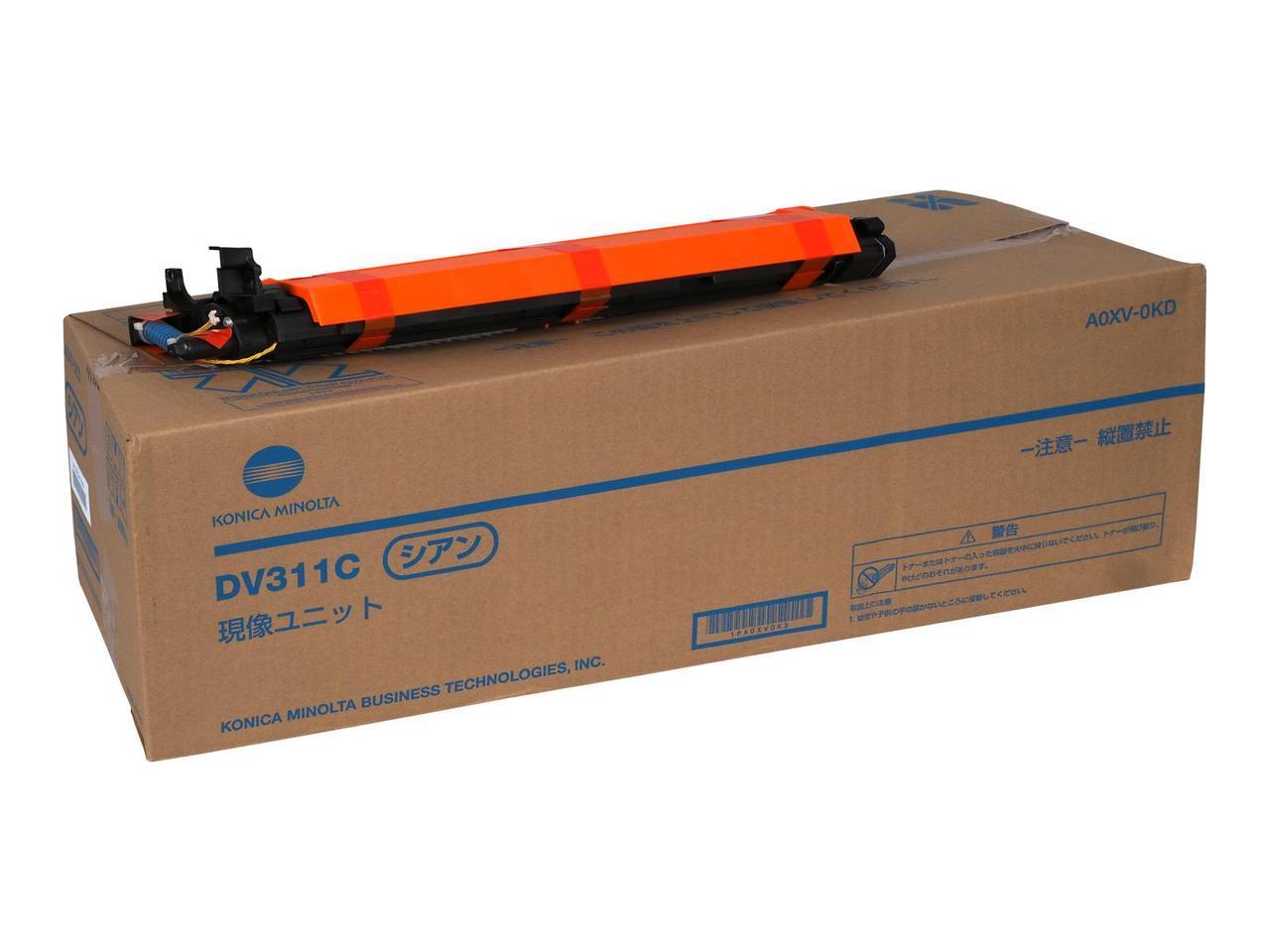 DV-311C Девелопер Cyan (блакитний) на 115 000@5% для bizhub C220/280/360