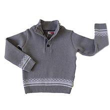 """Серый свитер  для мальчика """"Михаил"""""""