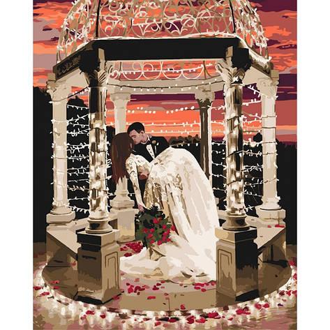 Картина за номерами В полоні любові 40*50см КНО4532 Ідейка, фото 2