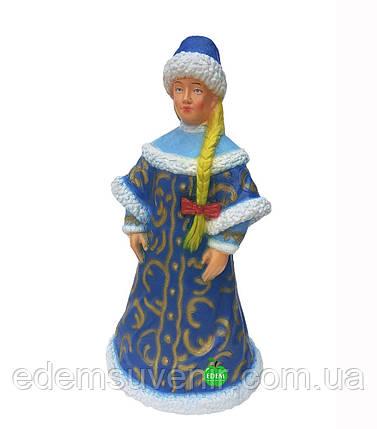 Новогодняя садовая Фигура Снегурочка, фото 2