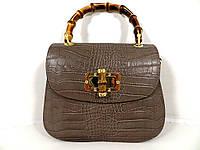 Жіноча сумочка  . Італія 100% натуральна шкіра . Капучіно